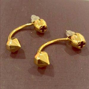 Rebecca Minkoff Gold Ear Jackets!